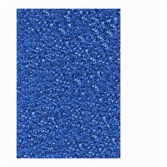 Sparkling Glitter Blue Small Garden Flag (Two Sides)