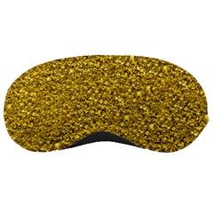Sparkling Glitter Golden Sleeping Masks by ImpressiveMoments
