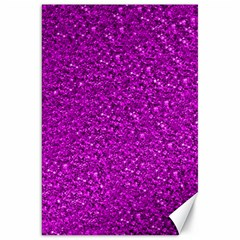 Sparkling Glitter Hot Pink Canvas 20  X 30   by ImpressiveMoments