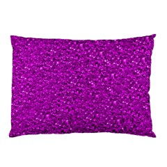 Sparkling Glitter Hot Pink Pillow Cases by ImpressiveMoments