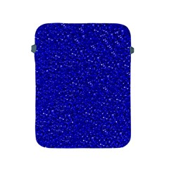 Sparkling Glitter Inky Blue Apple iPad 2/3/4 Protective Soft Cases by ImpressiveMoments