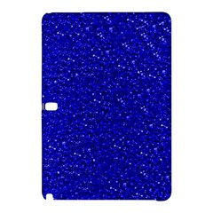 Sparkling Glitter Inky Blue Samsung Galaxy Tab Pro 12 2 Hardshell Case by ImpressiveMoments