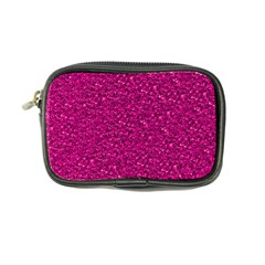 Sparkling Glitter Pink Coin Purse by ImpressiveMoments