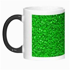 Sparkling Glitter Neon Green Morph Mugs by ImpressiveMoments