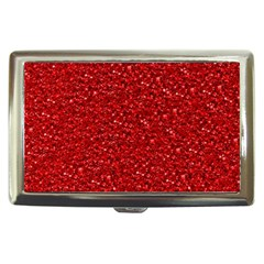 Sparkling Glitter Red Cigarette Money Cases by ImpressiveMoments