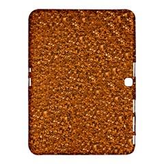 Sparkling Glitter Terra Samsung Galaxy Tab 4 (10 1 ) Hardshell Case  by ImpressiveMoments
