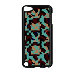 Distorted Shapes In Retro Colors Apple Ipod Touch 5 Case (black) by LalyLauraFLM