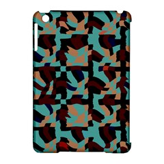 Distorted Shapes In Retro Colors Apple Ipad Mini Hardshell Case (compatible With Smart Cover) by LalyLauraFLM