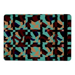 Distorted Shapes In Retro Colorssamsung Galaxy Tab Pro 10 1  Flip Case by LalyLauraFLM