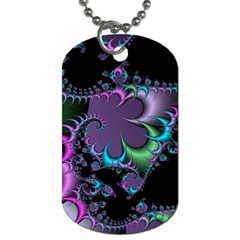 Fractal Dream Dog Tag (one Side) by ImpressiveMoments