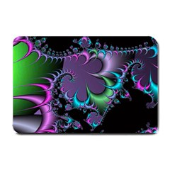 Fractal Dream Small Doormat  by ImpressiveMoments