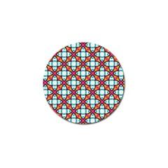 Pattern 1284 Golf Ball Marker (10 Pack) by creativemom