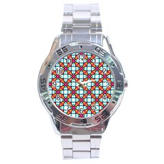 Pattern 1284 Stainless Steel Men s Watch by creativemom