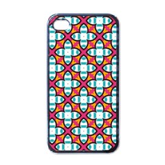 Pattern 1284 Apple Iphone 4 Case (black) by creativemom