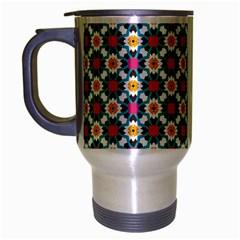 Pattern 1282 Travel Mug (silver Gray) by creativemom