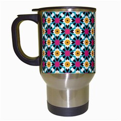 Pattern 1282 Travel Mugs (white) by creativemom