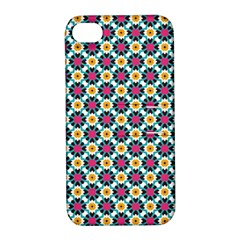 Pattern 1282 Apple Iphone 4/4s Hardshell Case With Stand by creativemom