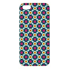 Pattern 1282 Apple Iphone 5 Premium Hardshell Case by creativemom