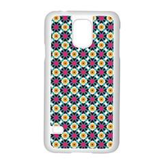 Pattern 1282 Samsung Galaxy S5 Case (white) by creativemom