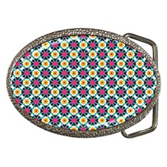 Cute Abstract Pattern Background Belt Buckles by creativemom