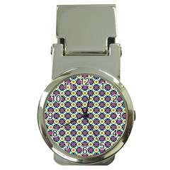 Cute Abstract Pattern Background Money Clip Watches by creativemom