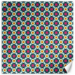 Cute Abstract Pattern Background Canvas 16  X 16   by creativemom