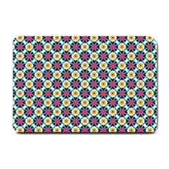 Cute Abstract Pattern Background Small Doormat  by creativemom