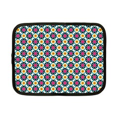 Cute Abstract Pattern Background Netbook Case (small)  by creativemom