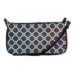Cute Abstract Pattern Background Shoulder Clutch Bags by creativemom