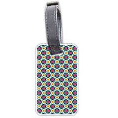 Cute Abstract Pattern Background Luggage Tags (one Side)  by creativemom