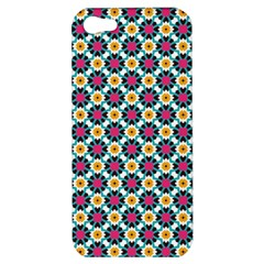 Cute Abstract Pattern Background Apple Iphone 5 Hardshell Case by creativemom