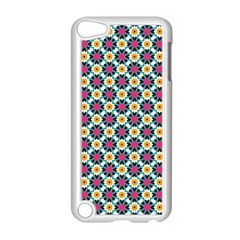 Cute Abstract Pattern Background Apple Ipod Touch 5 Case (white) by creativemom