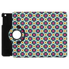 Cute Abstract Pattern Background Apple Ipad Mini Flip 360 Case by creativemom