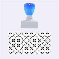 Cute Pretty Elegant Pattern Rubber Stamps (medium)  by creativemom
