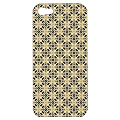 Cute Pretty Elegant Pattern Apple Iphone 5 Hardshell Case by creativemom
