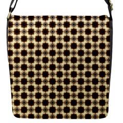 Cute Pretty Elegant Pattern Flap Messenger Bag (s) by creativemom