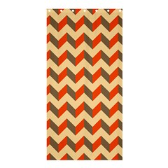 Modern Retro Chevron Patchwork Pattern  Shower Curtain 36  X 72  (stall)  by creativemom