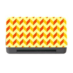 Modern Retro Chevron Patchwork Pattern  Memory Card Reader With Cf by creativemom