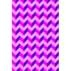Modern Retro Chevron Patchwork Pattern 5.5  x 8.5  Notebooks by creativemom