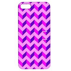 Modern Retro Chevron Patchwork Pattern Apple Iphone 5 Hardshell Case With Stand by creativemom