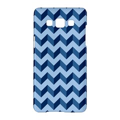 Modern Retro Chevron Patchwork Pattern Samsung Galaxy A5 Hardshell Case  by creativemom
