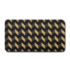 Modern Retro Chevron Patchwork Pattern Medium Bar Mats by creativemom