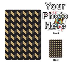 Modern Retro Chevron Patchwork Pattern Multi Purpose Cards (rectangle)  by creativemom