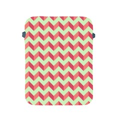 Modern Retro Chevron Patchwork Pattern Apple Ipad 2/3/4 Protective Soft Cases by creativemom