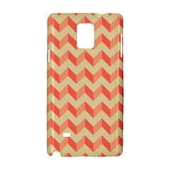 Modern Retro Chevron Patchwork Pattern Samsung Galaxy Note 4 Hardshell Case