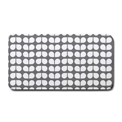 Gray And White Leaf Pattern Medium Bar Mats by creativemom