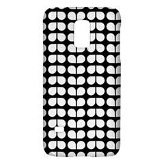Black And White Leaf Pattern Galaxy S5 Mini by creativemom