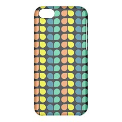 Colorful Leaf Pattern Apple Iphone 5c Hardshell Case by creativemom
