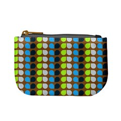 Colorful Leaf Pattern Mini Coin Purses by creativemom