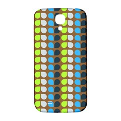 Colorful Leaf Pattern Samsung Galaxy S4 I9500/i9505  Hardshell Back Case by creativemom
